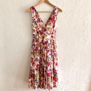 Aryeh Summer Dress Pink Floral S
